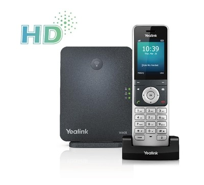 W60P IP DECT Phone bundle W56H with W60