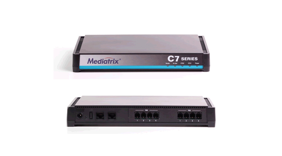 Mediatrix C710 VoIP Analog Adapter - 4 FXS Ports
