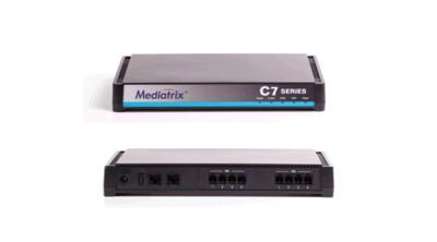 Mediatrix C711 VoIP Analog Adapter - 8 FXS Ports