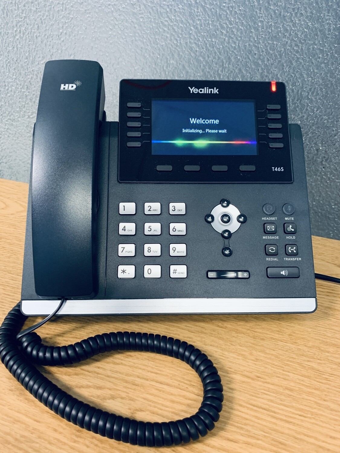 USED Yealink T46S VoIP telephone