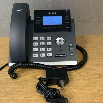 USED Yealink T41P telephone w/wall mount