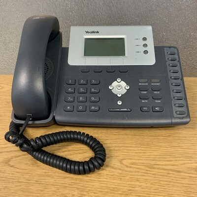 USED Yealink T26P VoIP telephone