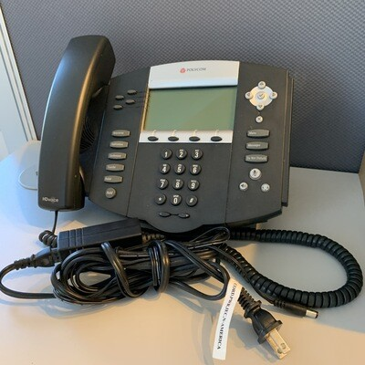 USED Polycom SoundPoint IP 550 VoIP Phone