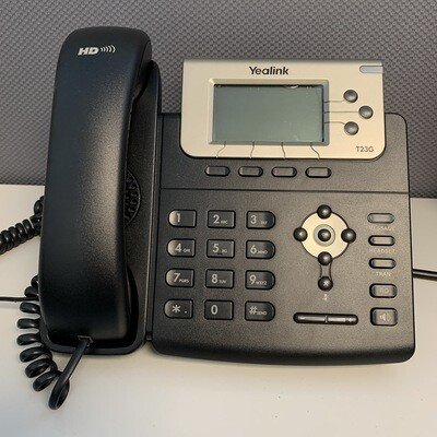 USED Yealink T23P VoIP telephone