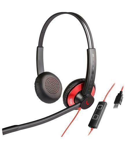 Addasound Dual-mic Noise Canceling Binaural USB Headset