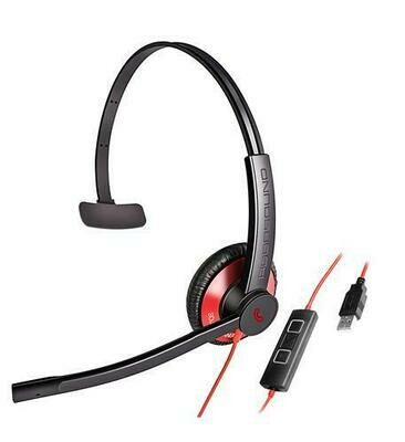 Addasound Dual-mic Noise Canceling Monaural USB Headset