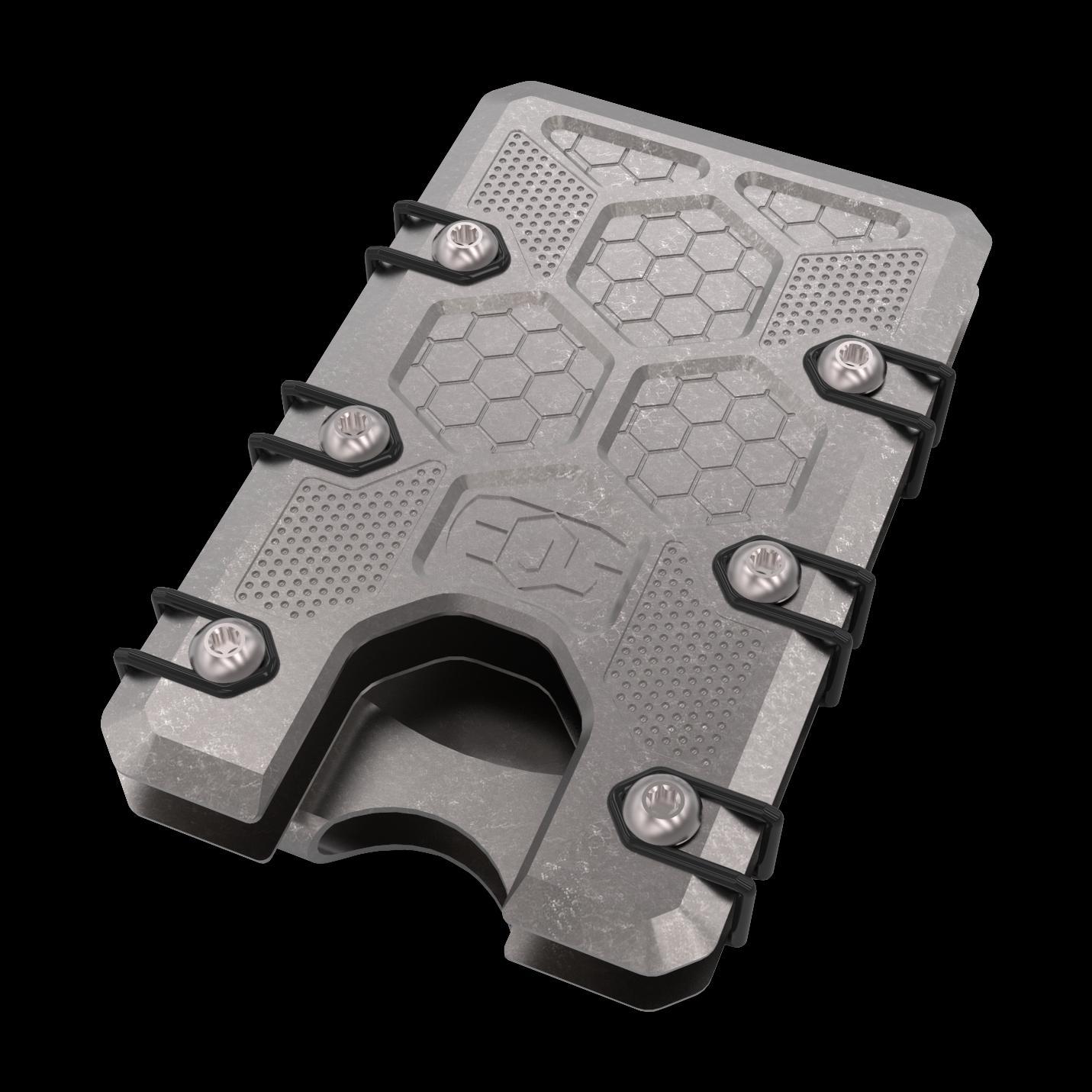 2.5 Titanium Wallet Stonewash