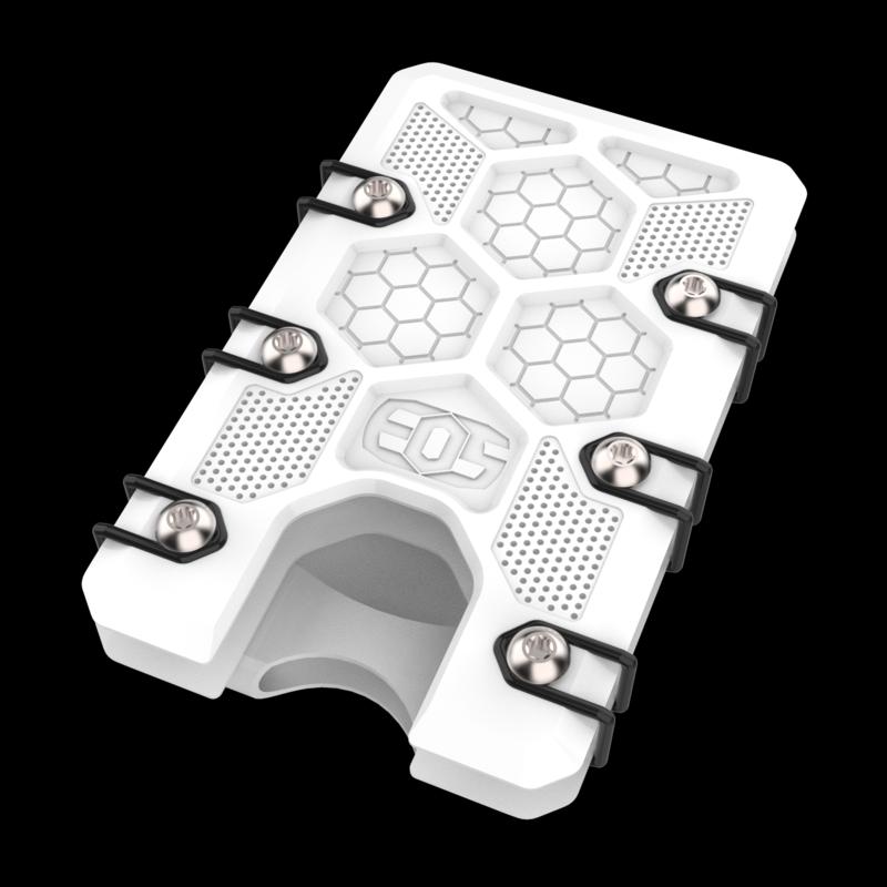 2.5 Titanium Wallet White Cerakote