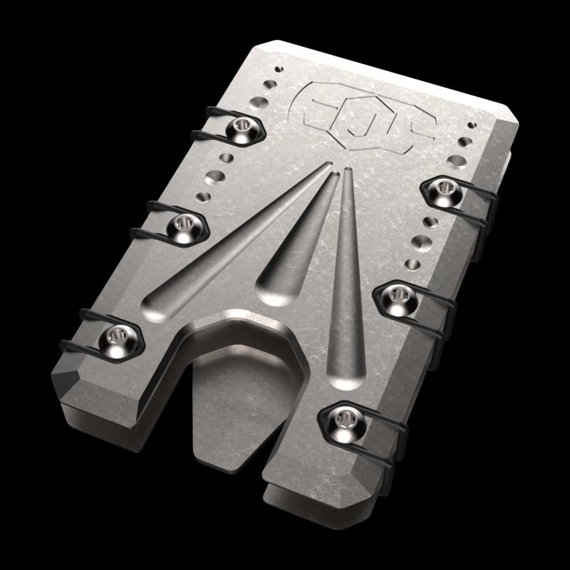Titanium 2.0 Raw Stonewashed Wallet