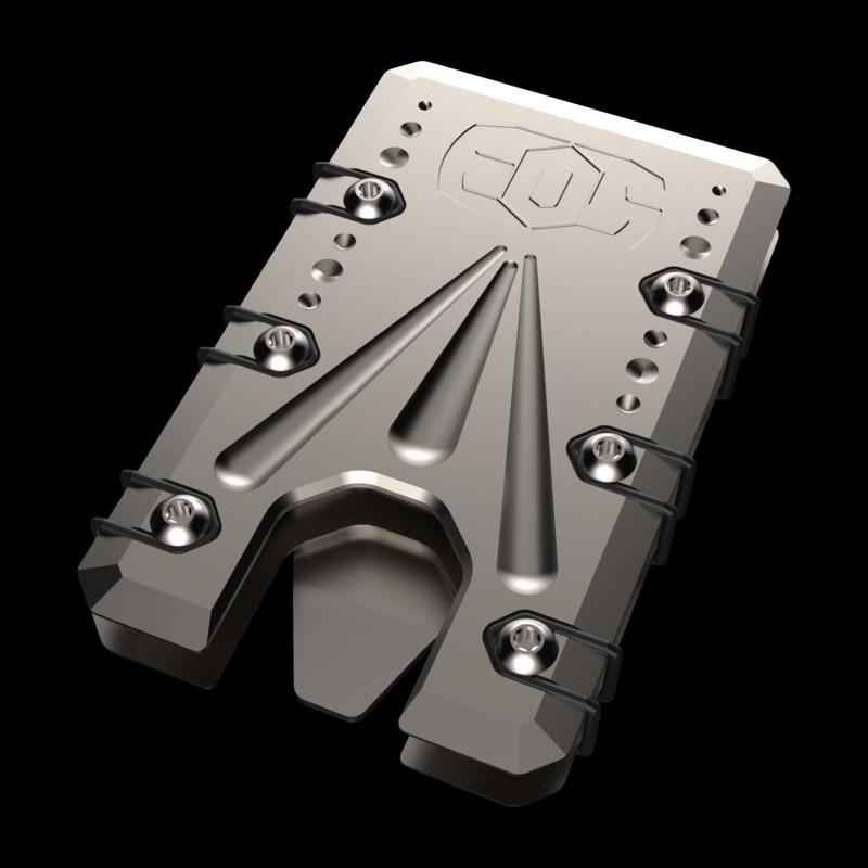 Titanium 2.0 Bead Blast Wallet