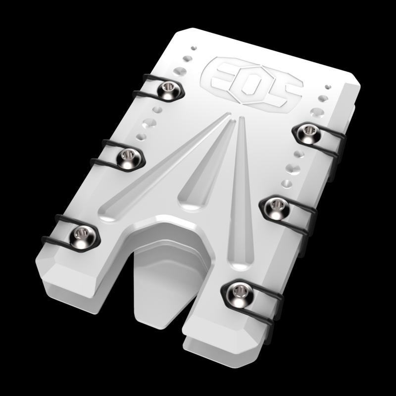 2.0 Titanium Wallet White Cerakote