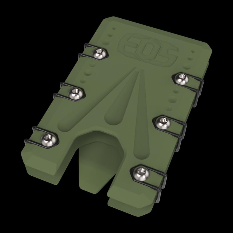 2.0 Titanium Wallet OD Green Cerakote