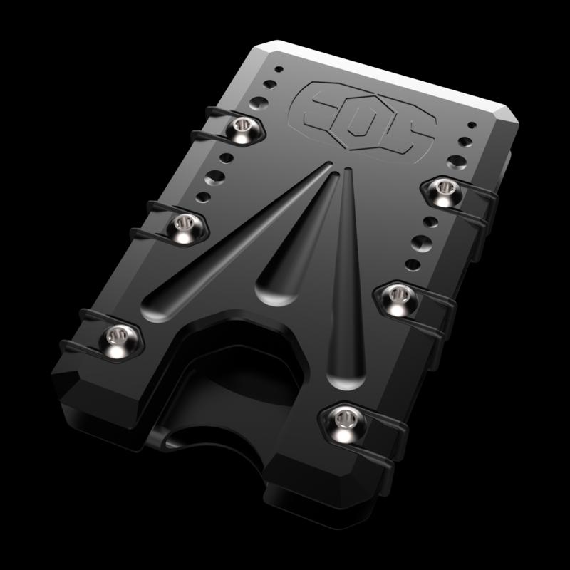 2.0 Titanium Wallet Black Cerakote Deep Carry Money Clip