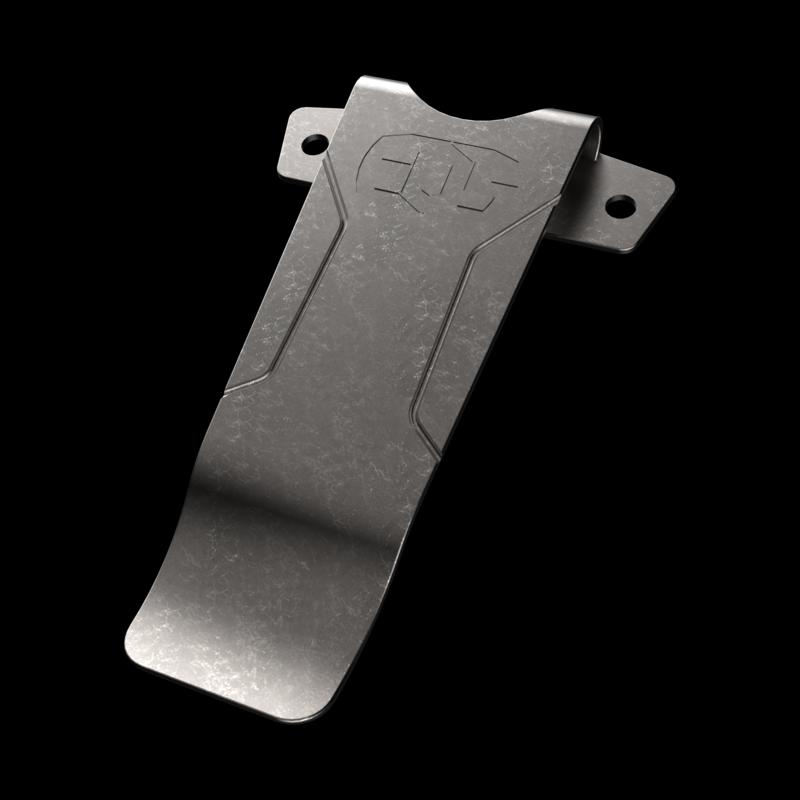 Deep carry money clip