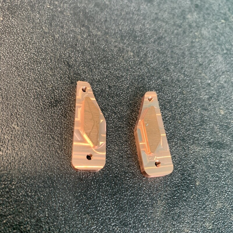 Copper Weighted Back Spacers