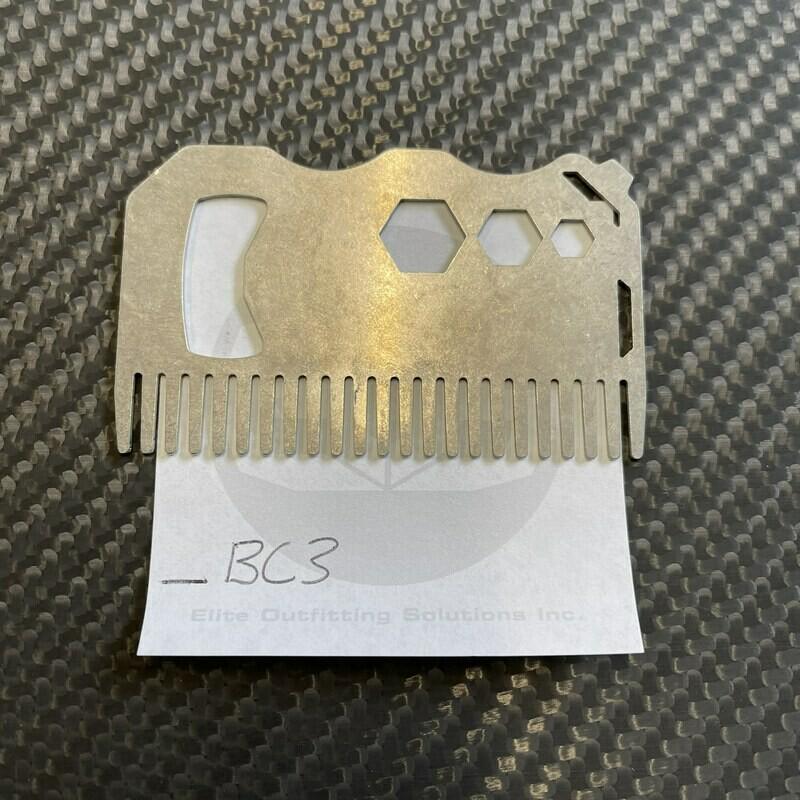 Steel Beard Comb