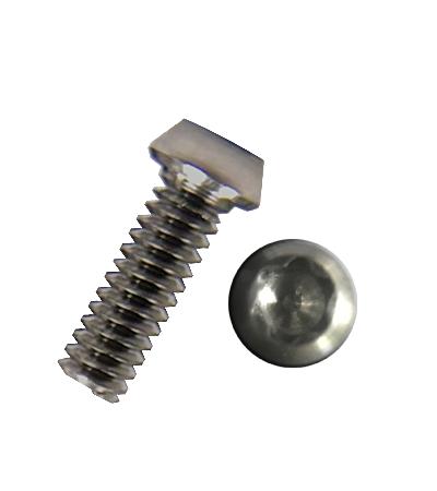 2-56 Button Head Titanium Screws (TORX 8)
