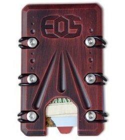 2.0 Titanium Wallet Black/Red Battleworn Cerakote