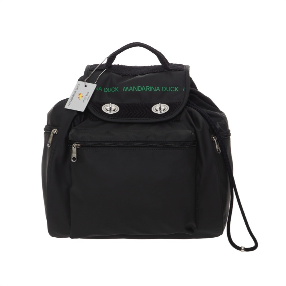 MANDARINA DUCK - Utility Backpack grande - Black