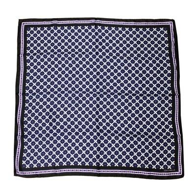 COCCINELLE - Azulejos Foulard in seta 90x90 - Multicolor Noir