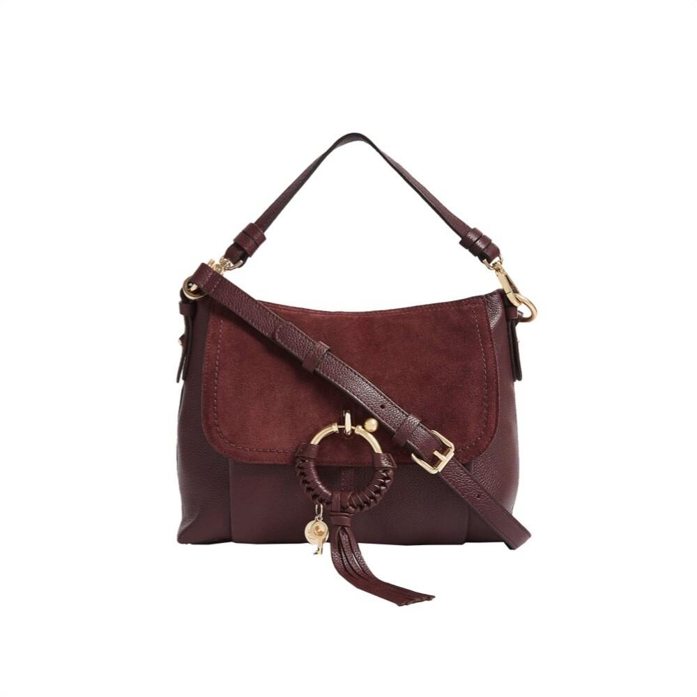 SEE BY CHLOÉ - Joan Small Shoulder Bag - Burgundy