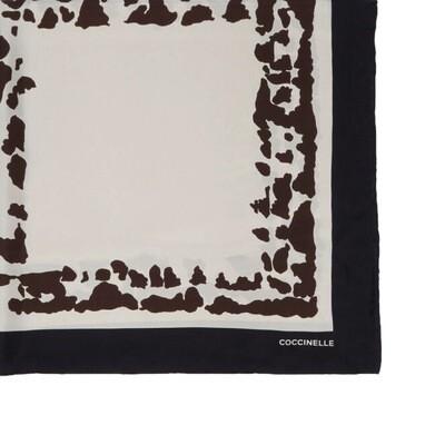 COCCINELLE - Animalier Print Foulard 90x90 - Multi Seashell