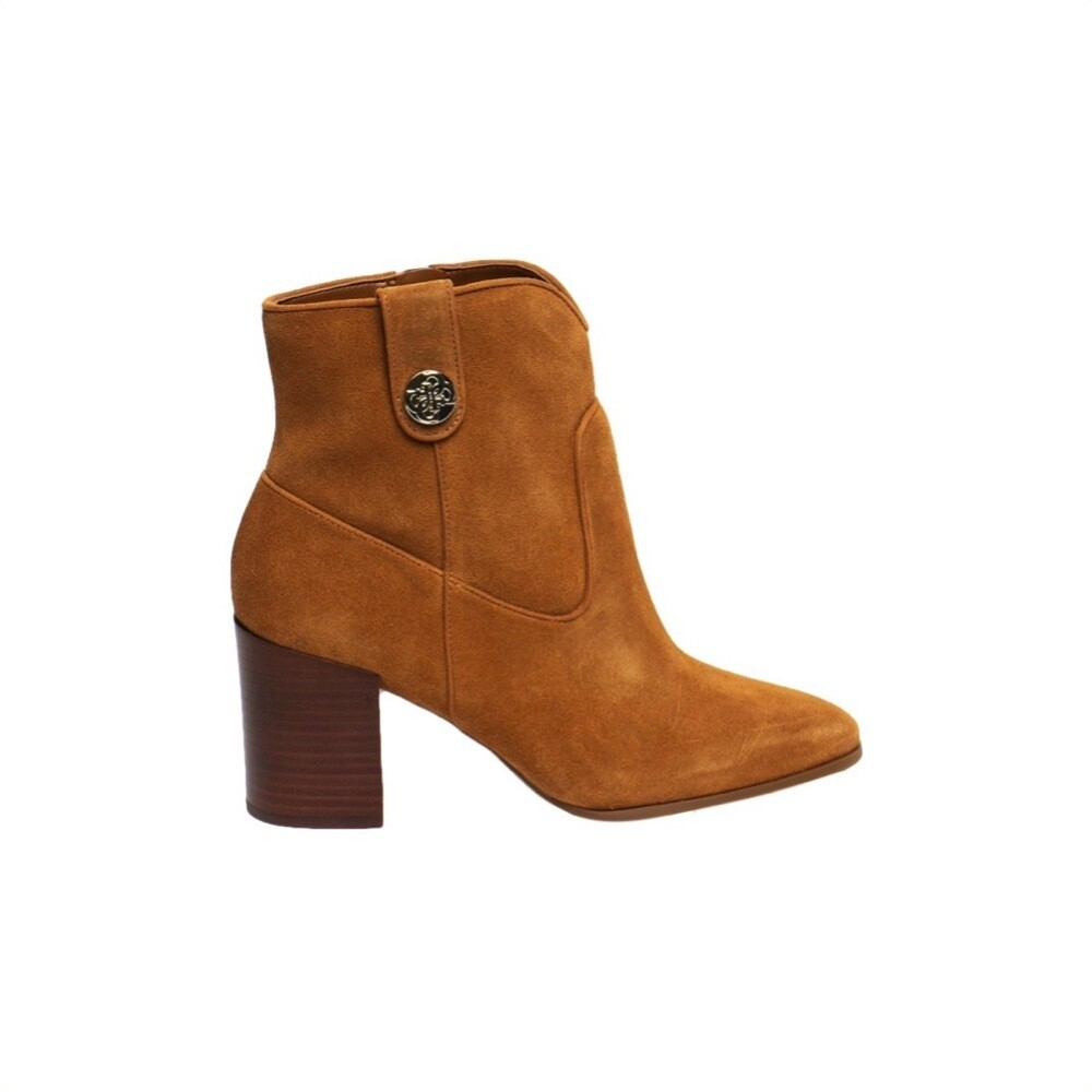GUESS - Cypher Stivaletto in suede - Dark Tan