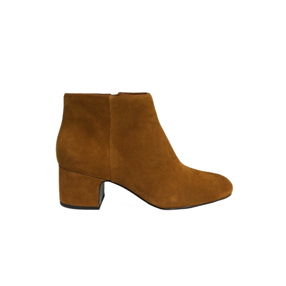 WHAT FOR - Firma stivaletto suede - Dark Camel