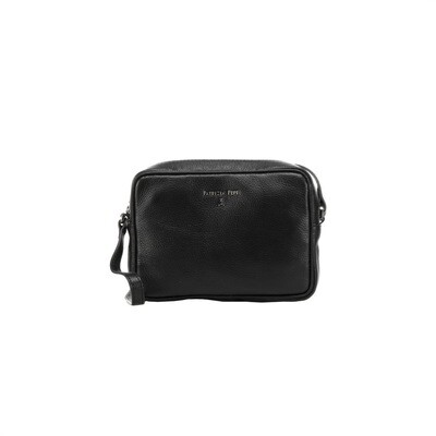 PATRIZIA PEPE - Camera Bag in pelle - Nero