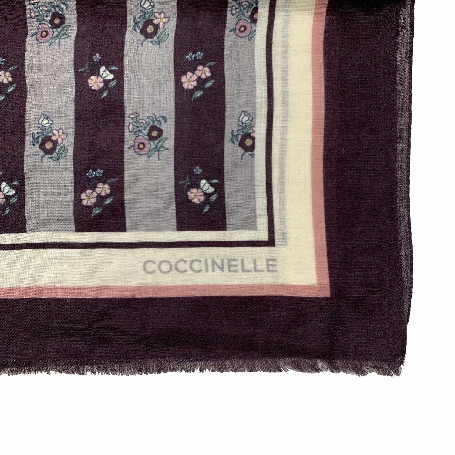 COCCINELLE - Wallpaper Print Stola - Multi Plum