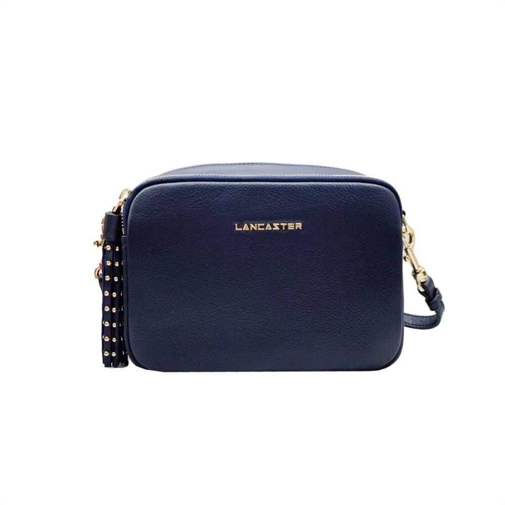 LANCASTER - Ana&Annae Medium Crossbody bag - Bleu Fonce
