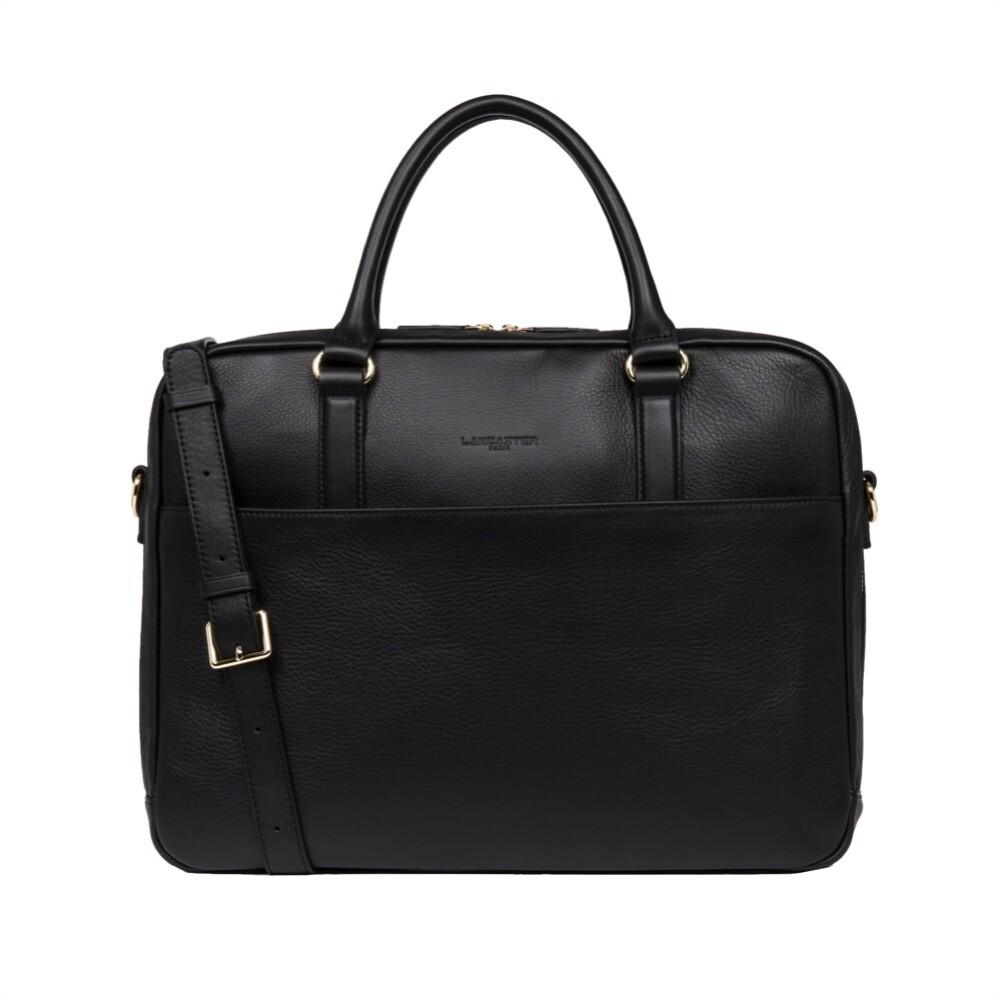 LANCASTER - Business Bag - Noir Croco