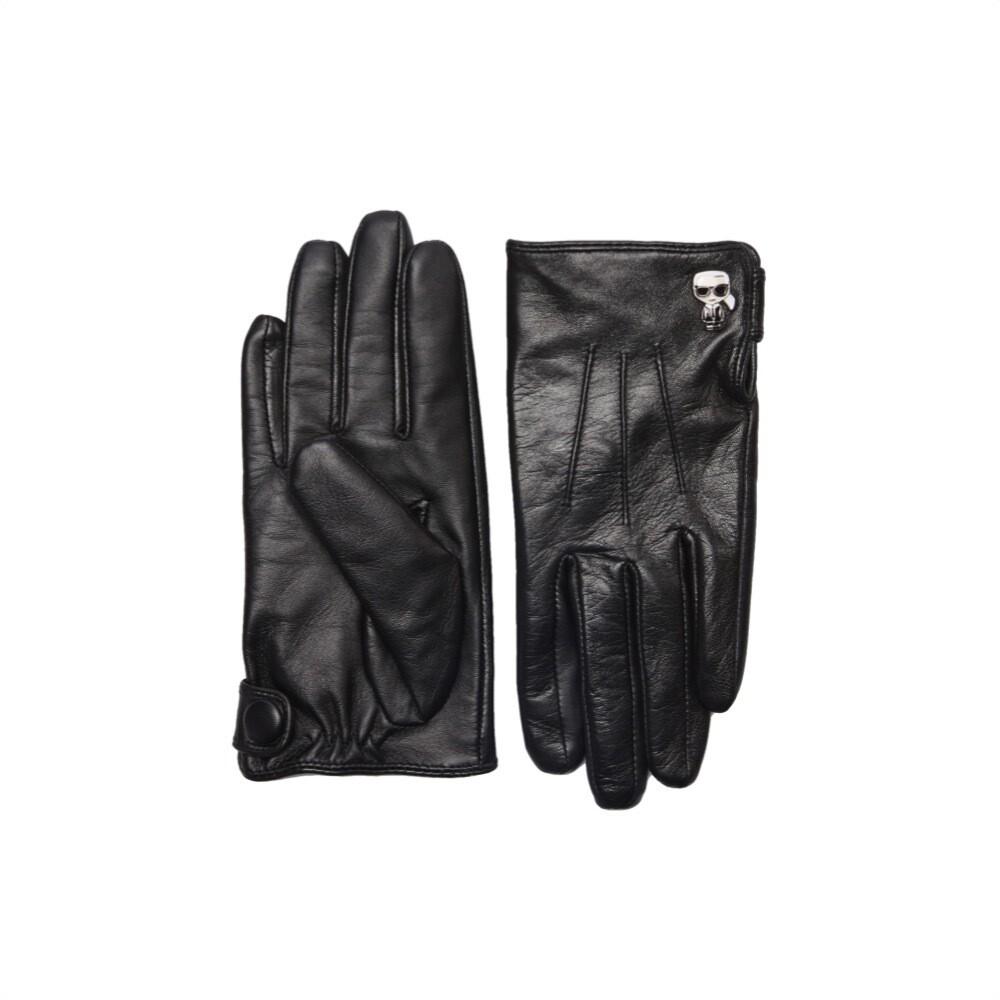 KARL LAGERFELD - K/Ikonik Guanti in Pelle - Black
