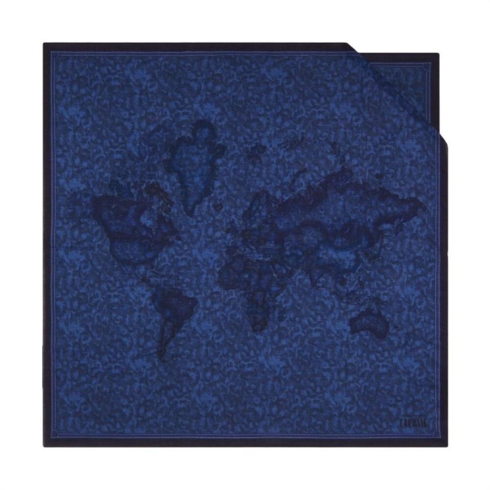 ALVIERO MARTINI - Foulard New Geo Color 90x90 - Blueberry