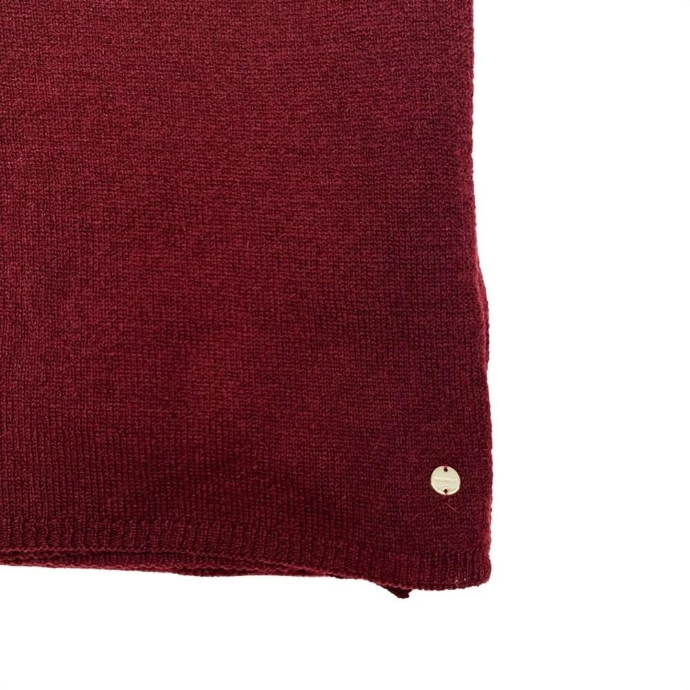 COCCINELLE - Marlene Sciarpa in lana e cashmere - Plum