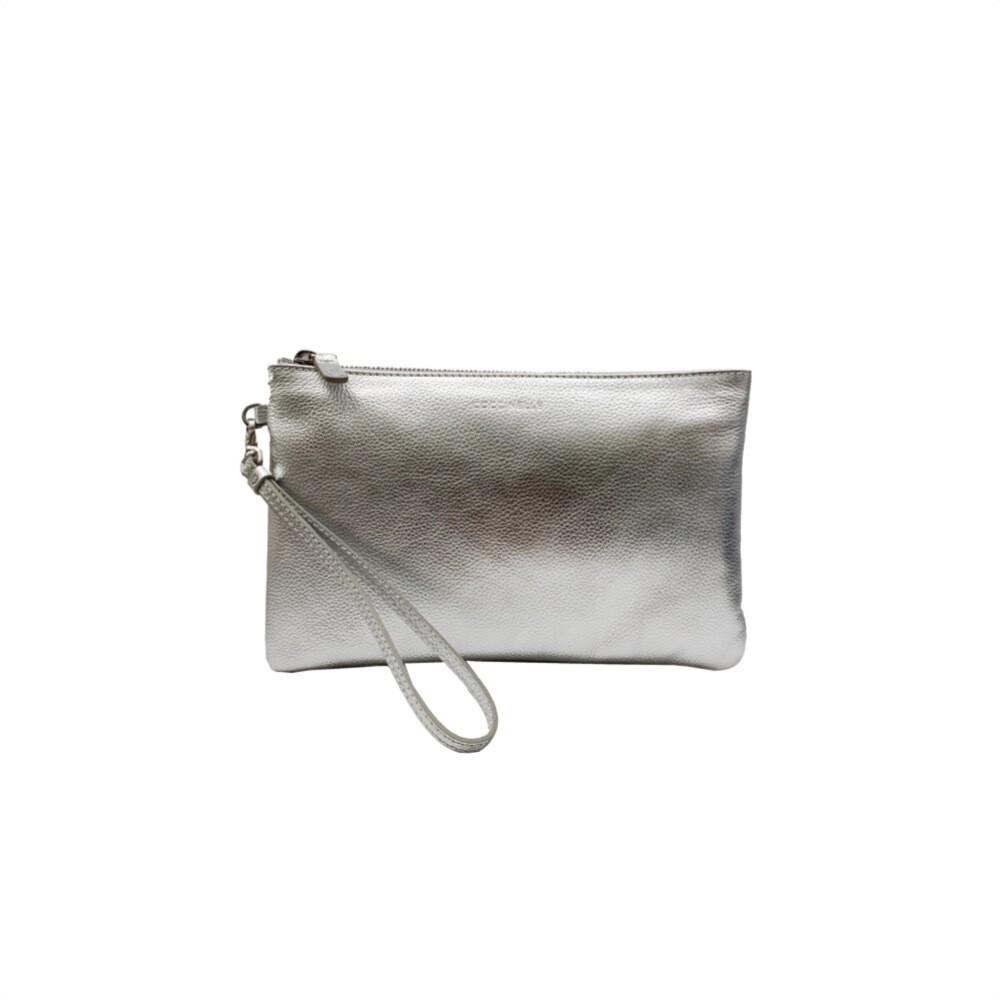 COCCINELLE - New Best Soft Pochette Media - Silver