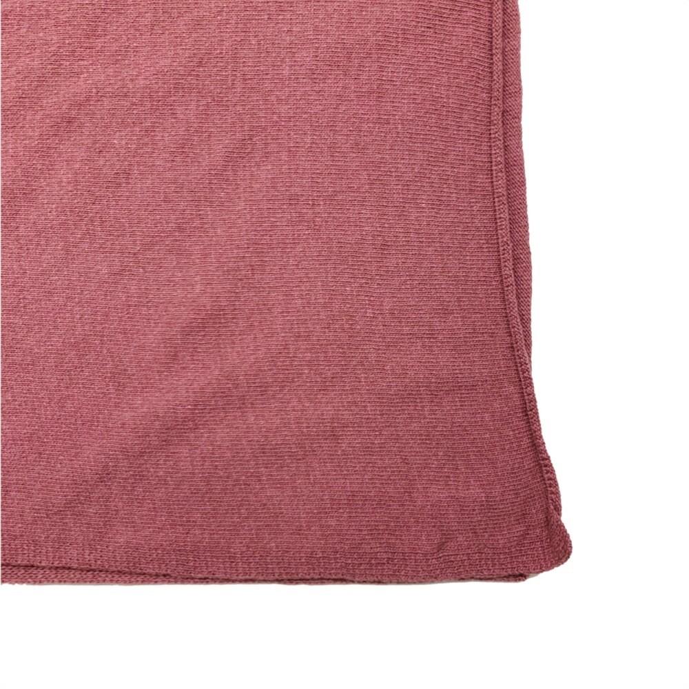 SERGIO DE ROSA - Sciarpa batik rasata - Rosa
