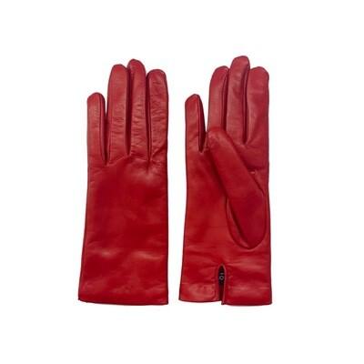 SERGIO DE ROSA - Guanti in pelle e lana - Rosso