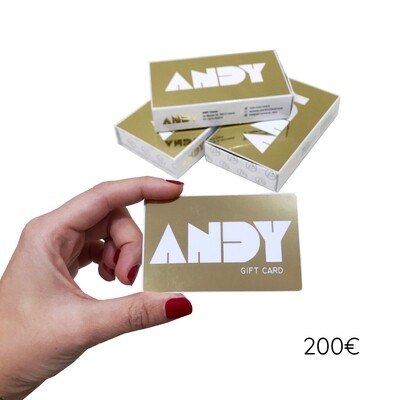 ANDY - Gift Card [200€]