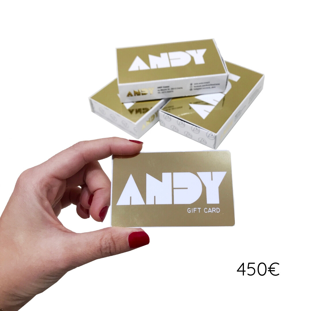 ANDY - Gift Card [450€]