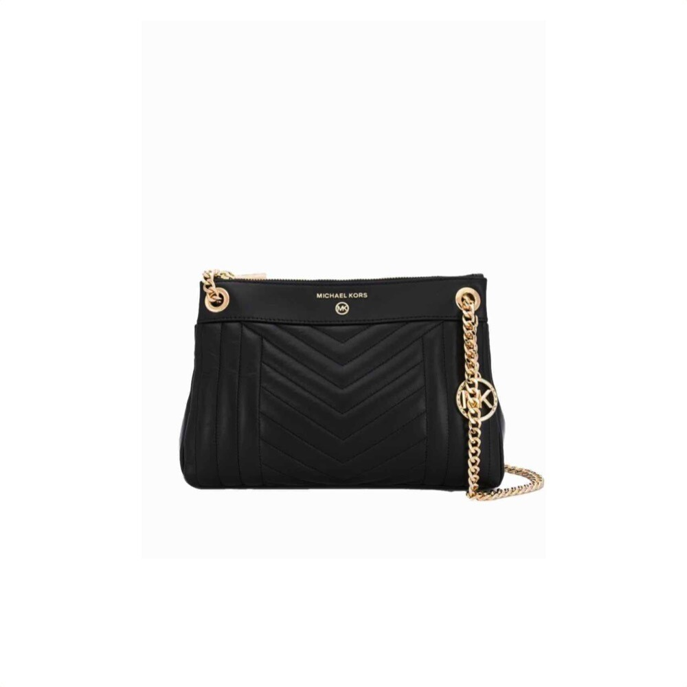 MICHAEL KORS - Susan Small Shoulder Bag - Black