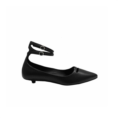 WHAT FOR - Phyllis Ballerina - Black