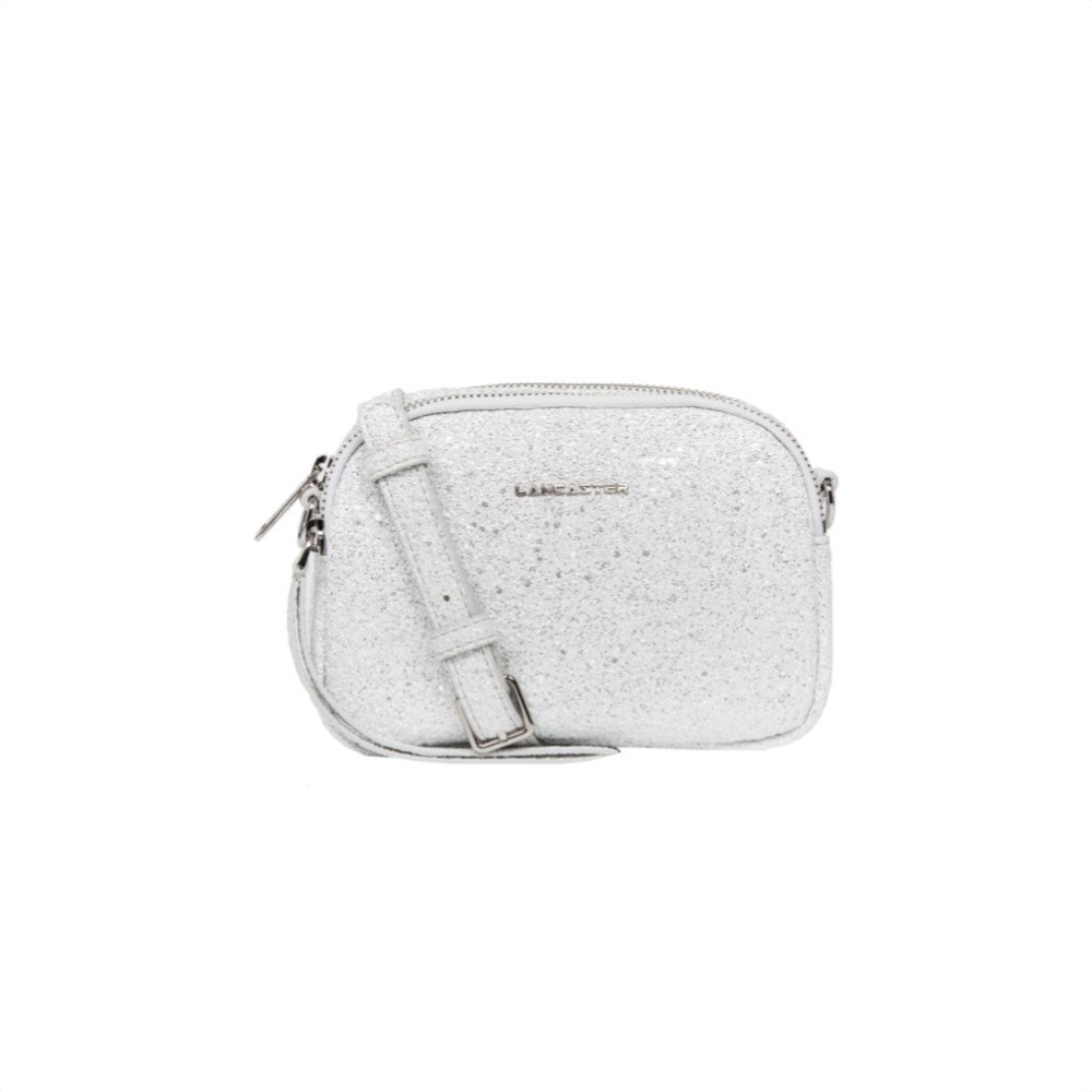 LANCASTER - Mini crossbody bag - Argent