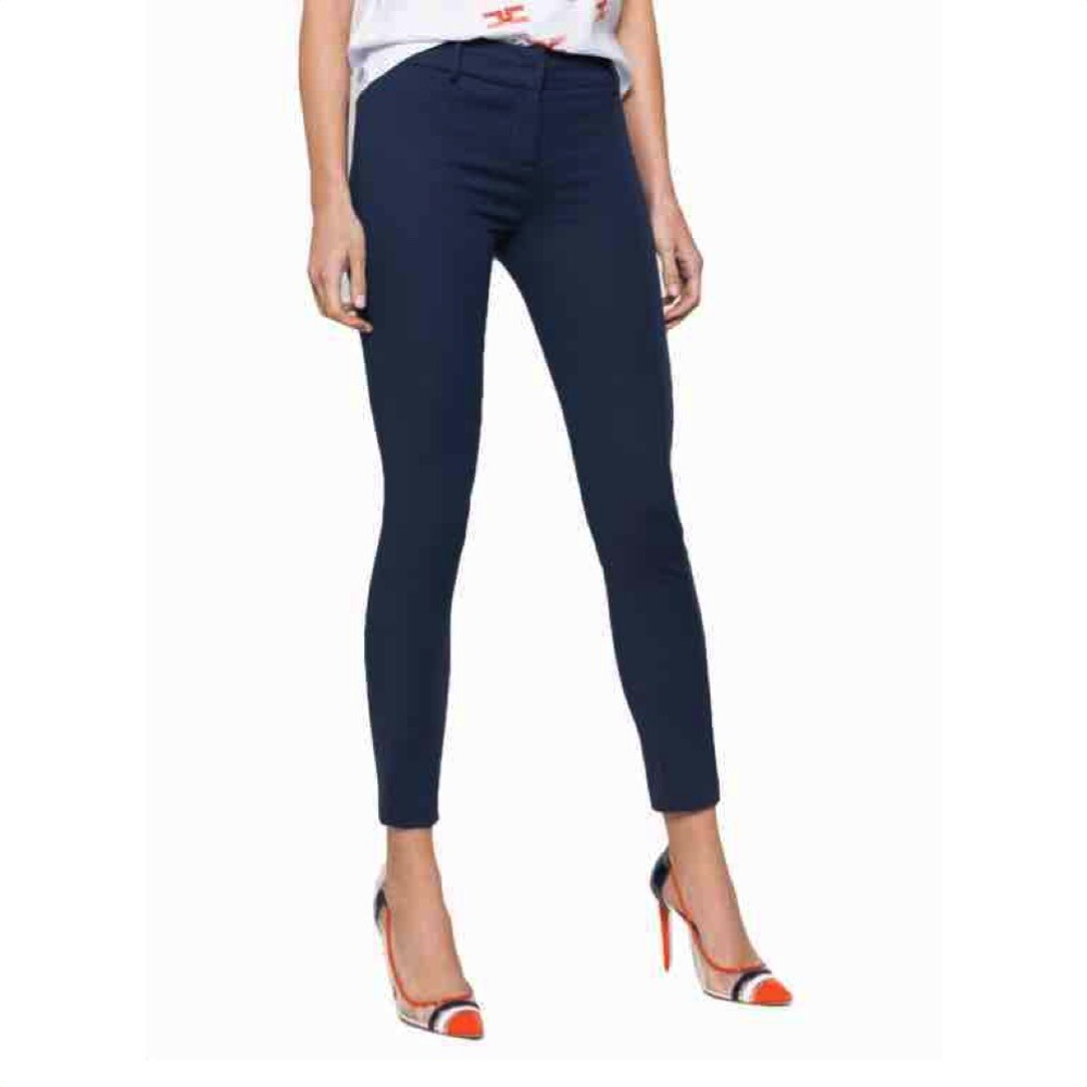 PATRIZIA PEPE - Pantalone Slim fit - Navy