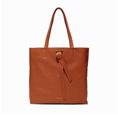 COCCINELLE - Joy Shopping Bag - Tan