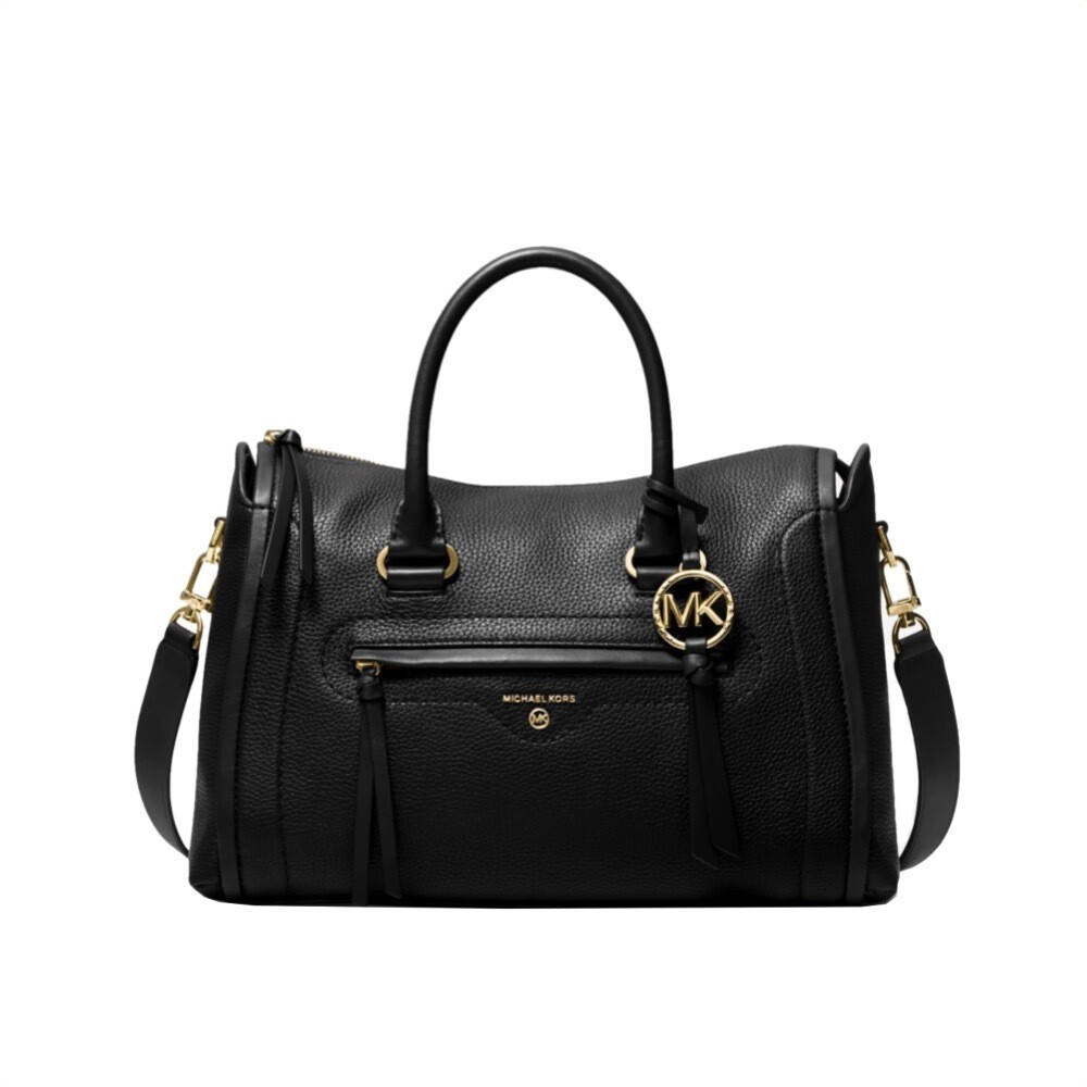 MICHAEL KORS - Carine Borsa a mano media - Black