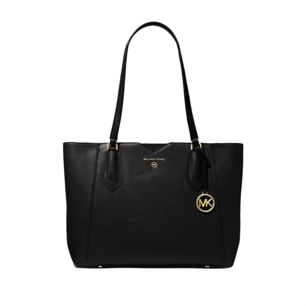 MICHAEL KORS - Mae Borsa tote media - Black