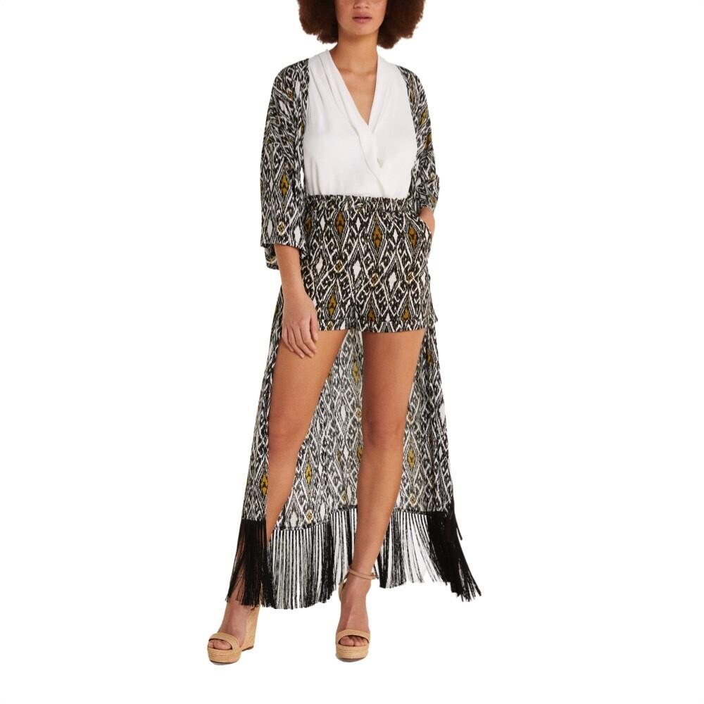 PATRIZIA PEPE - Shorts con dettagli - Ikat print