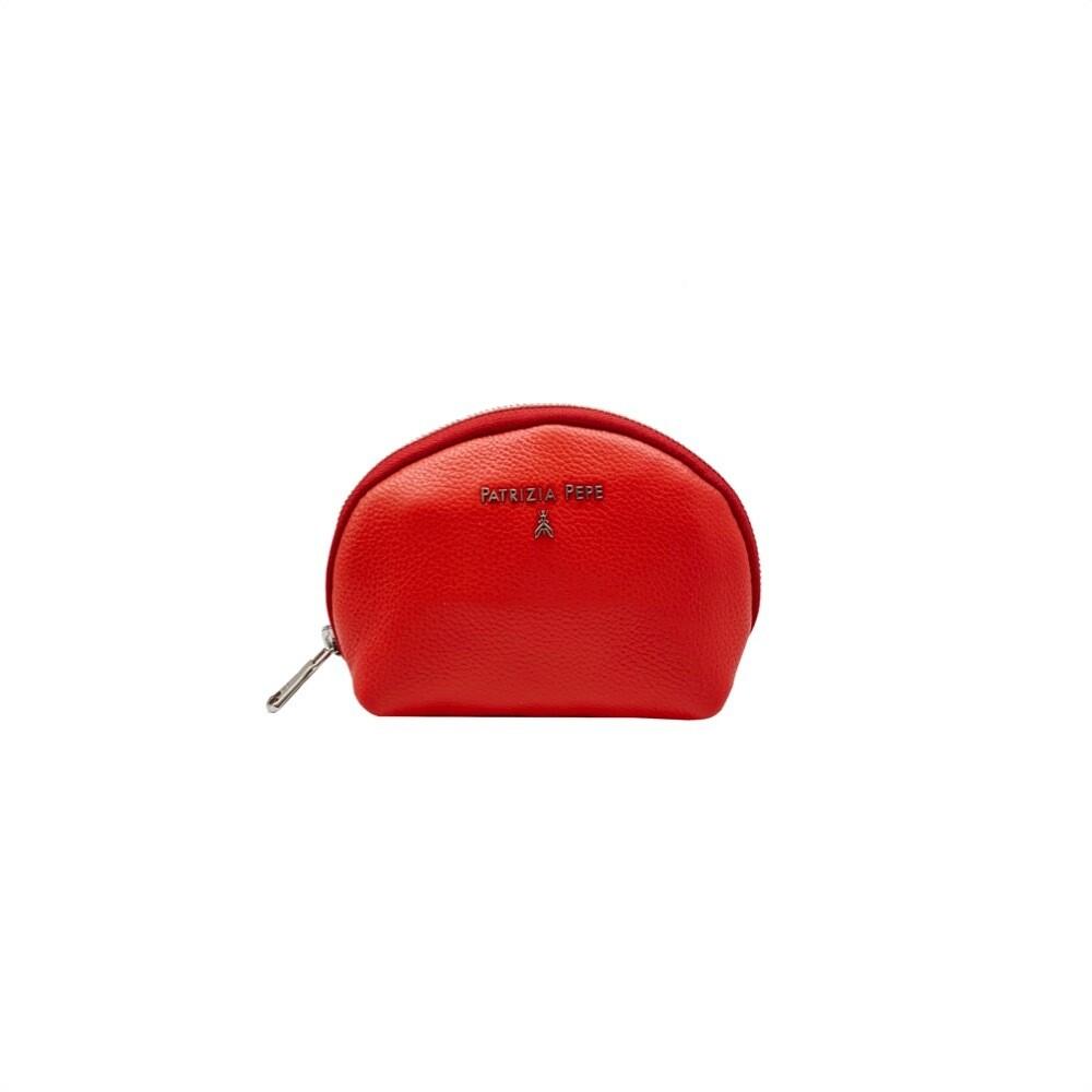 PATRIZIA PEPE - Bustina Portamonete - Flame Red
