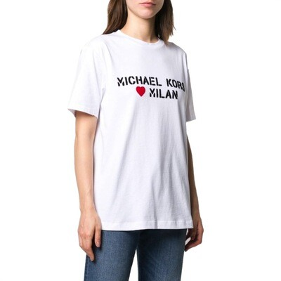 MICHAEL KORS - T-shirt Milano Heart - White